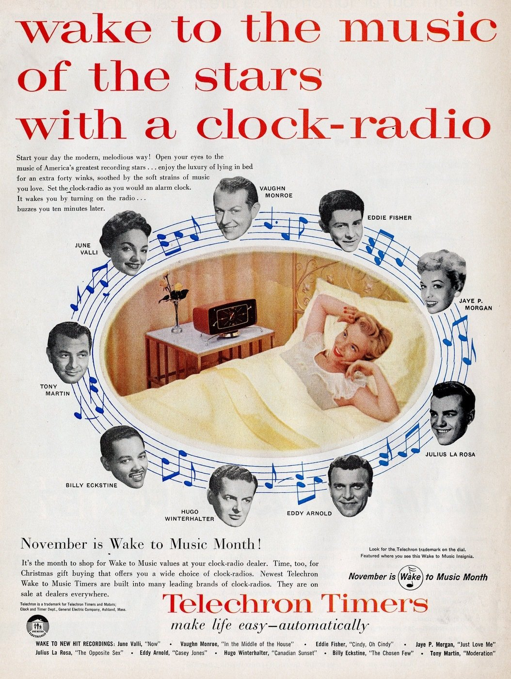 Vintage alarm clocks - Techron Timers from 1956