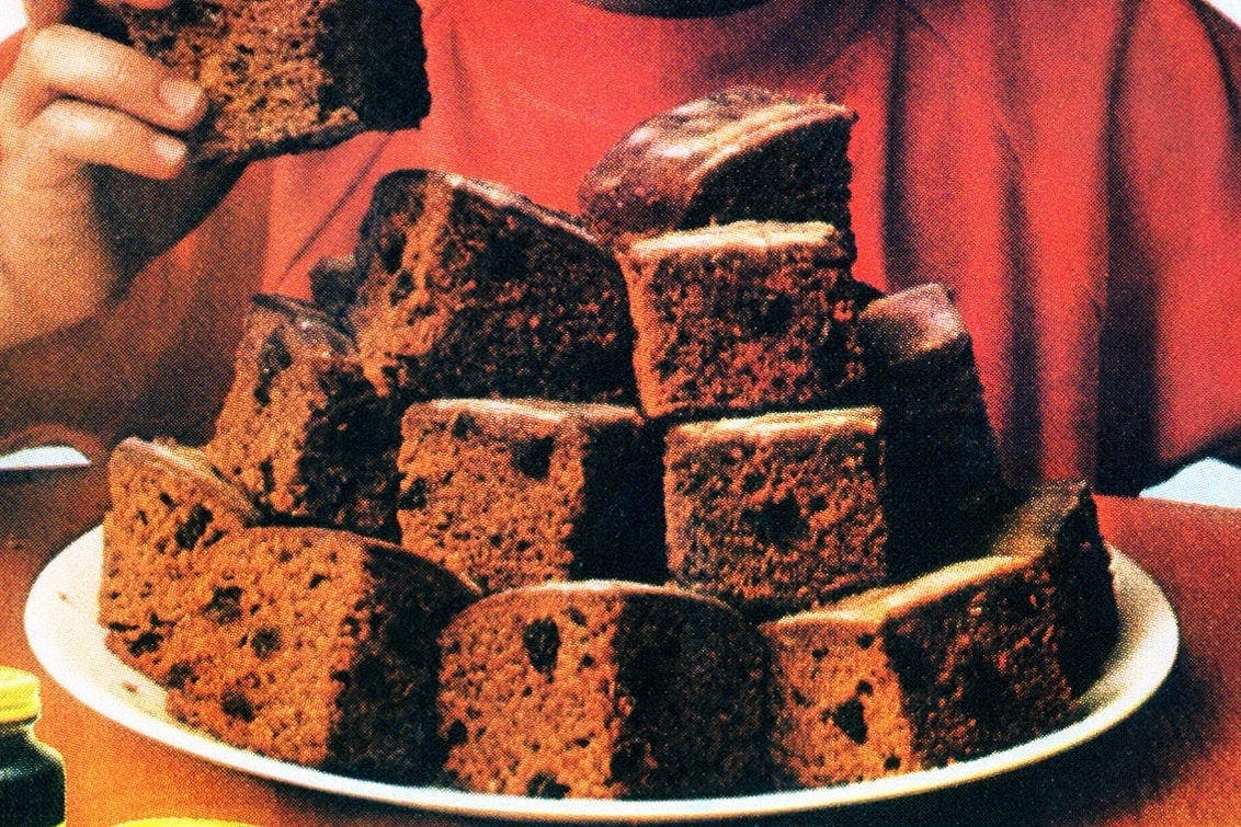 Vintage applesauce cake recipes (1970s)