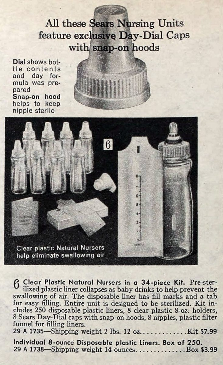 Vintage baby bottles from 1970s (2)