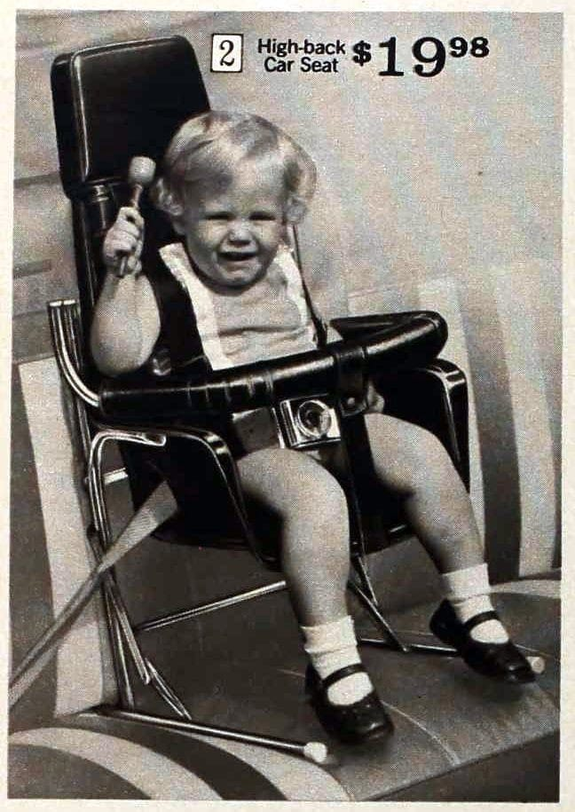 Vintage baby car seats from 1971 (1)