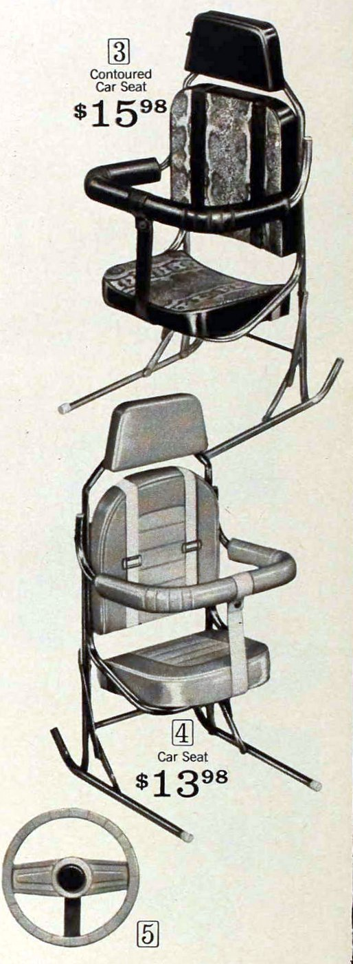 Vintage baby car seats from 1971 (2)