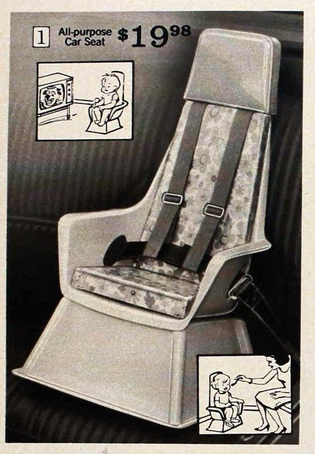 Vintage baby car seats from 1971 (3)