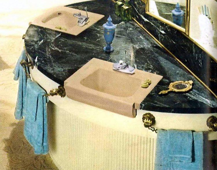 Vintage bathroom style ideas from 1962 (3)