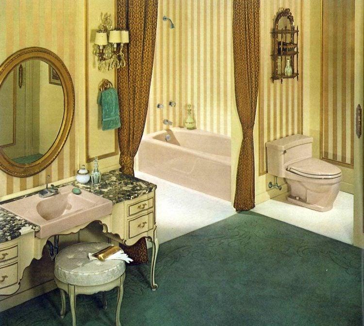 Vintage bathroom style ideas from 1962 (6)