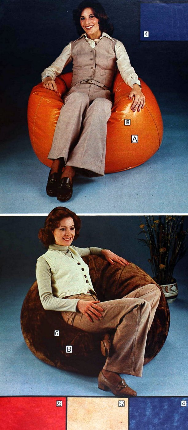 Vintage bean bag chairs for adults