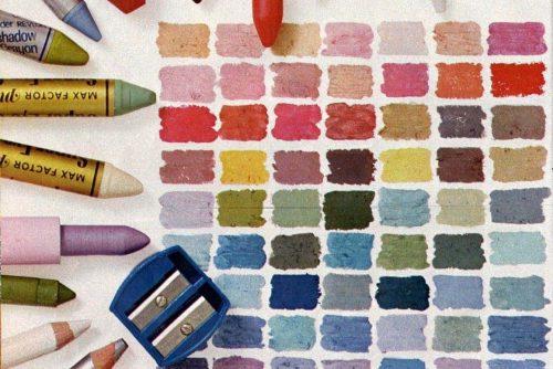 How to use makeup crayons (1974)