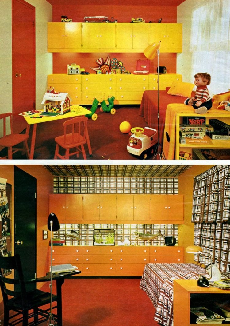 Vintage bedroom decor for kids Change the scene tips from 1972 (2)