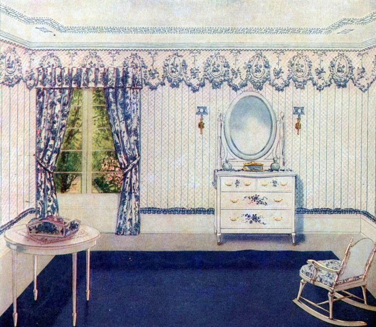 Vintage bedroom decor from the early 1900s (7)