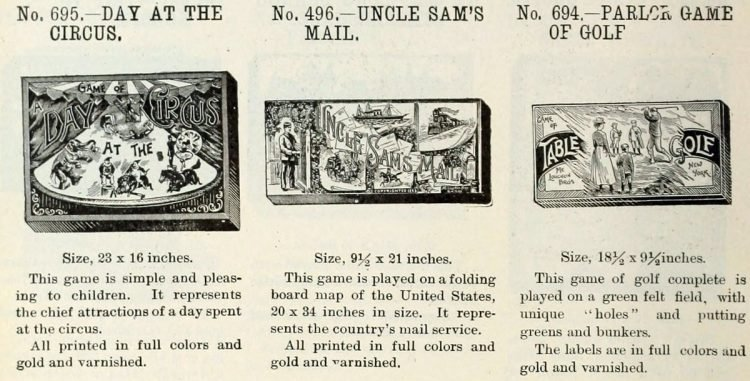 Vintage board games from the 1900s (1)