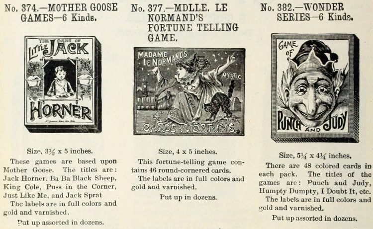 Vintage board games from the 1900s (2)