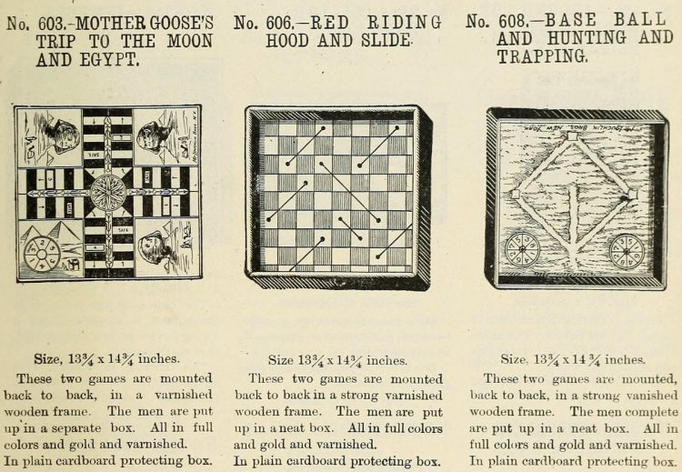Vintage board games from the 1900s (3)
