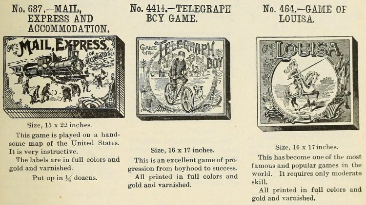 Vintage board games from the 1900s (4)