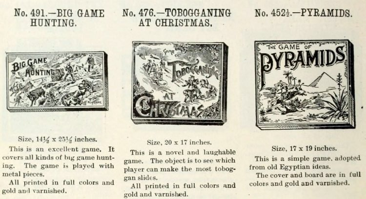 Vintage board games from the 1900s (5)