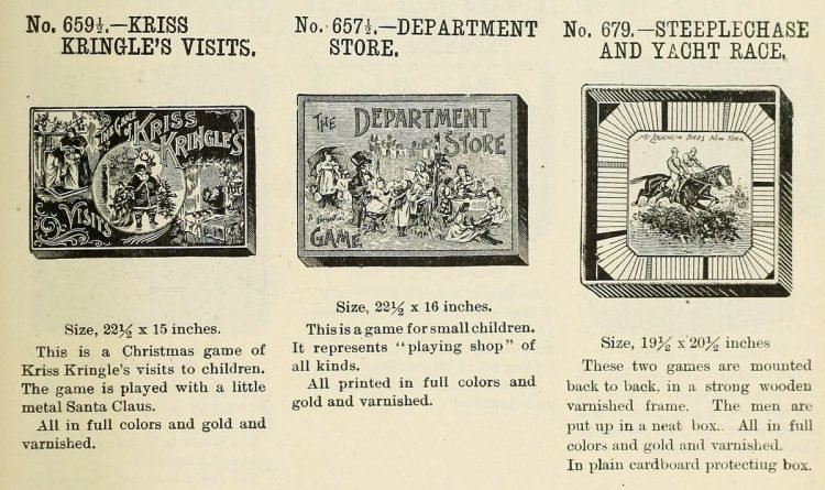 Vintage board games from the 1900s (6)