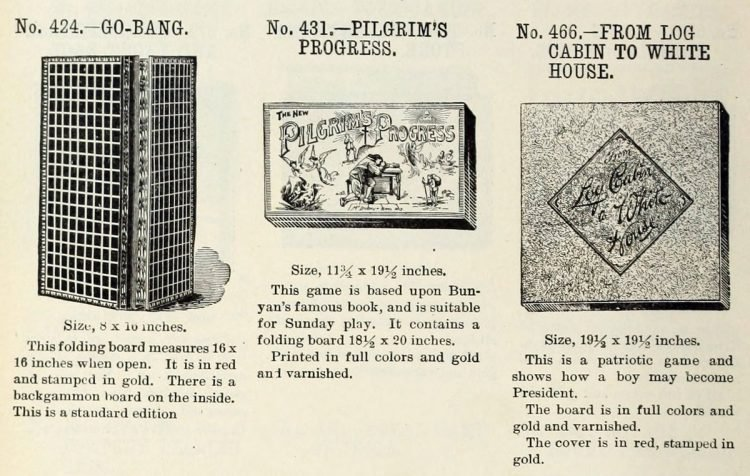 Vintage board games from the 1900s (7)