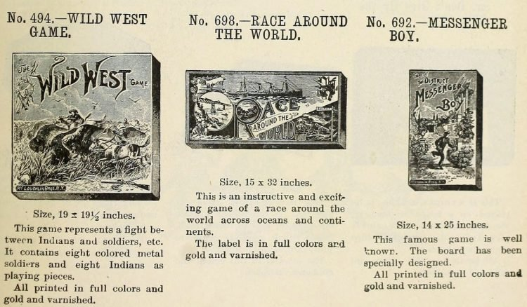 Vintage board games from the 1900s (8)