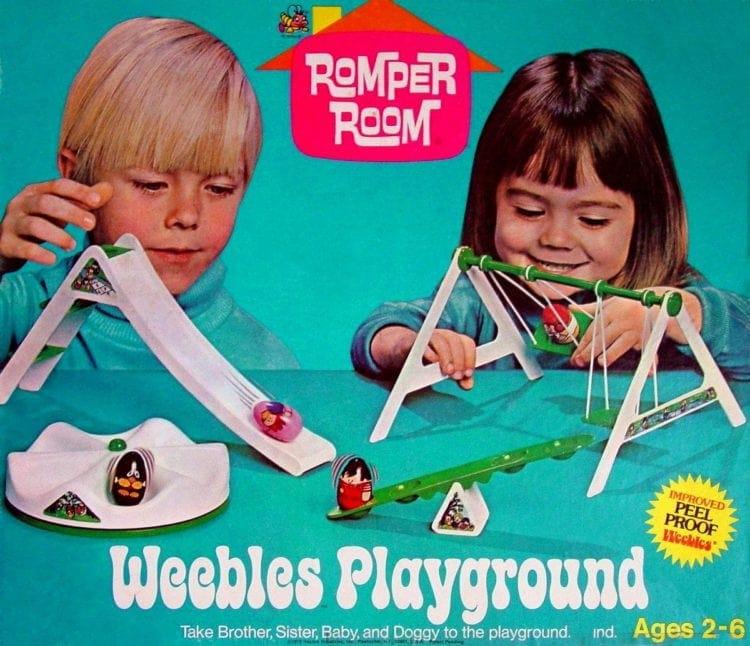 Vintage Weebles playground