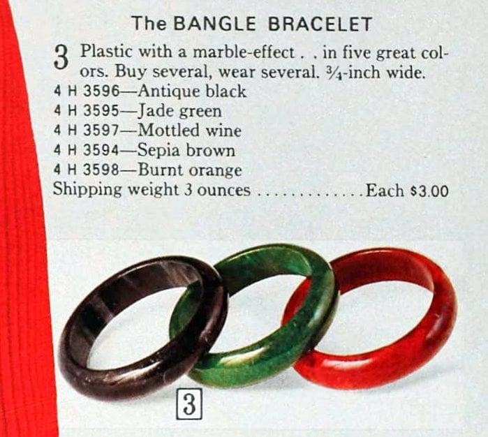 Vintage bracelets from the 70s (1)