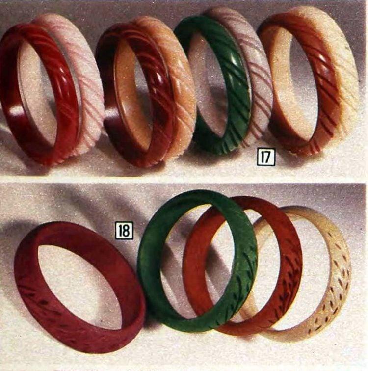 Vintage bracelets from the 70s (5)