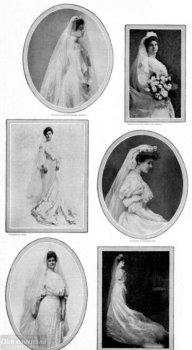 Vintage brides - weddings from c1905 (2)