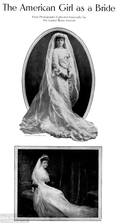 Vintage brides - weddings from c1905 (3)
