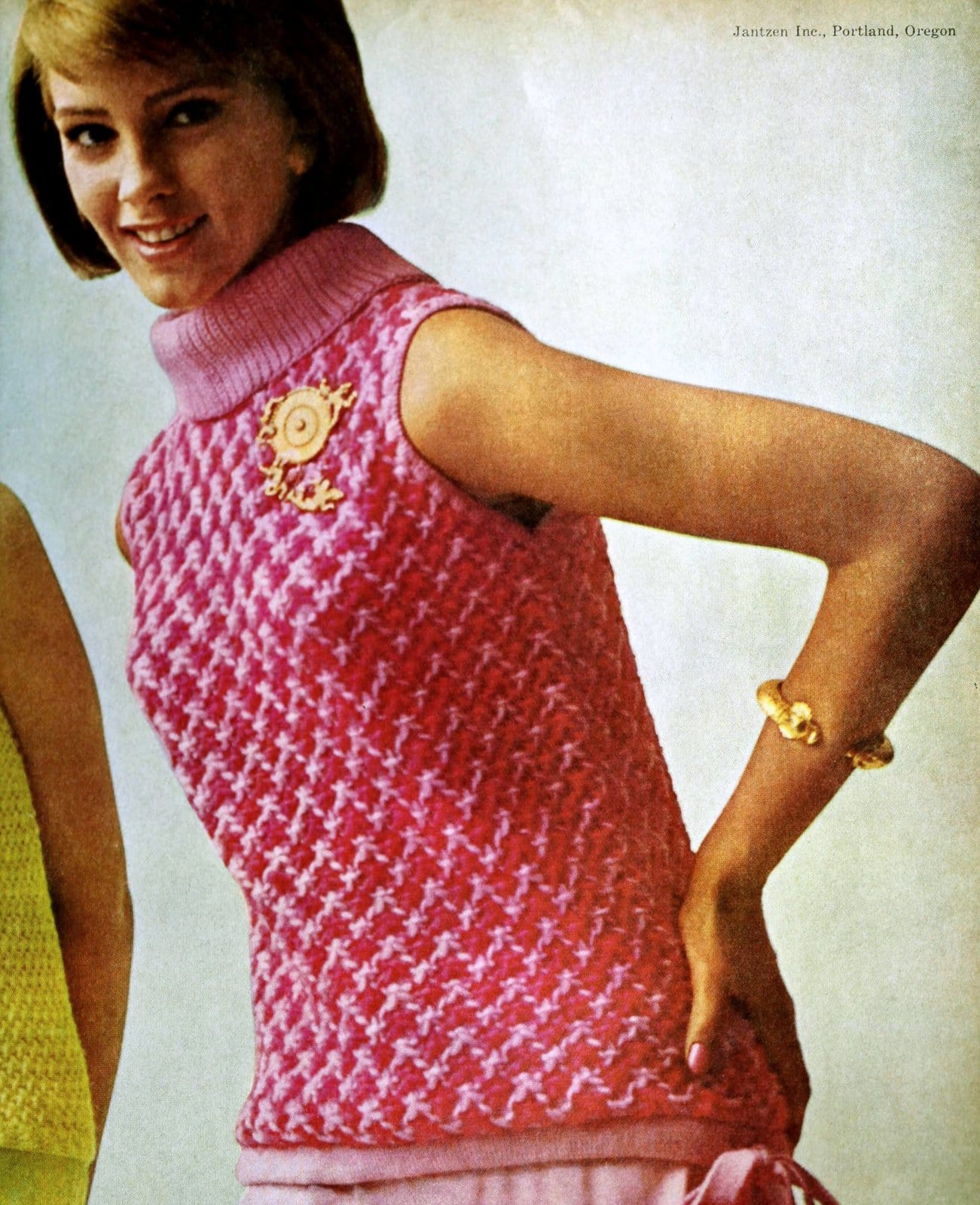 Vintage bright sweater fashions from Jantzen in 1964 (2)