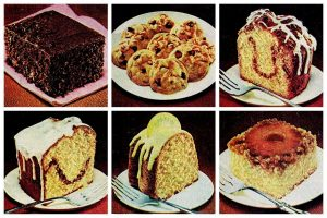 Vintage cake mix dessert recipes