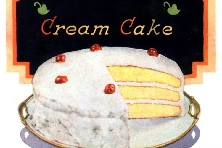 Vintage cake recipes