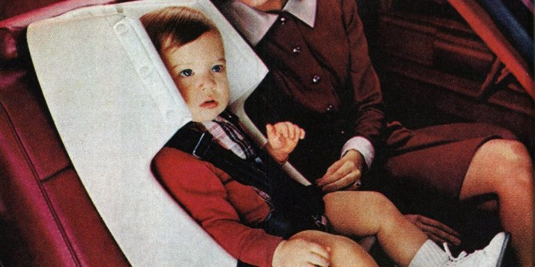 Vintage car seats - Announcing GM's new Love Seats-may-1973