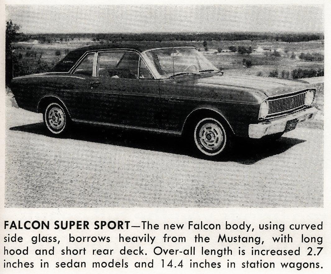 Vintage cars -- Falcon Super Sport (1965)