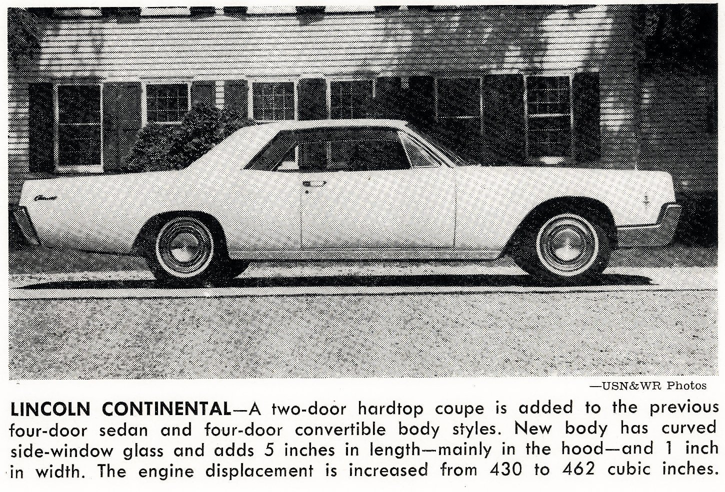 Vintage cars -- Lincoln Continental (1965)