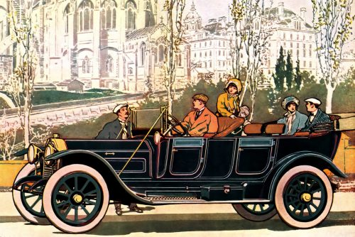 Vintage cars - The top automobiles for 1911