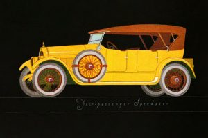 Vintage cars from 1922 (2)