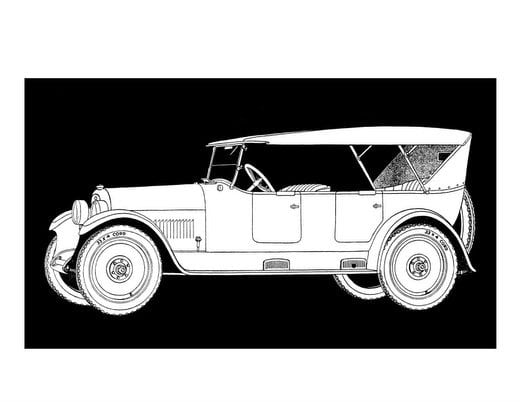 Vintage cars from the 1920s (3)