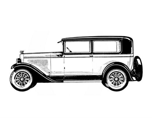 Vintage cars from the 1920s (4)