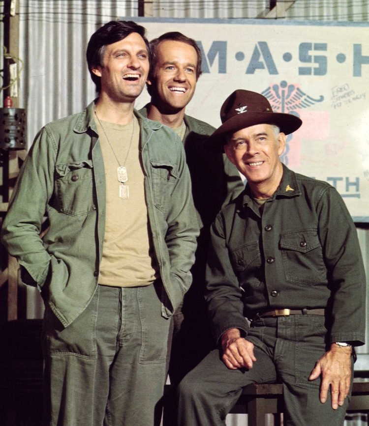 Vintage cast of MASH - Alda Farrell Morgan