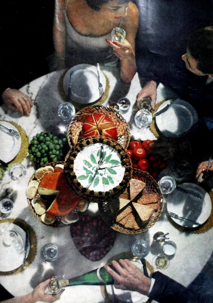 Vintage centerpiece ideas from the 60s and 70s (2)