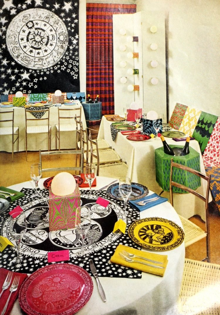 Vintage centerpiece ideas from the 60s and 70s (7)