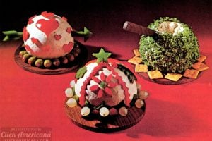 Vintage cheese balls