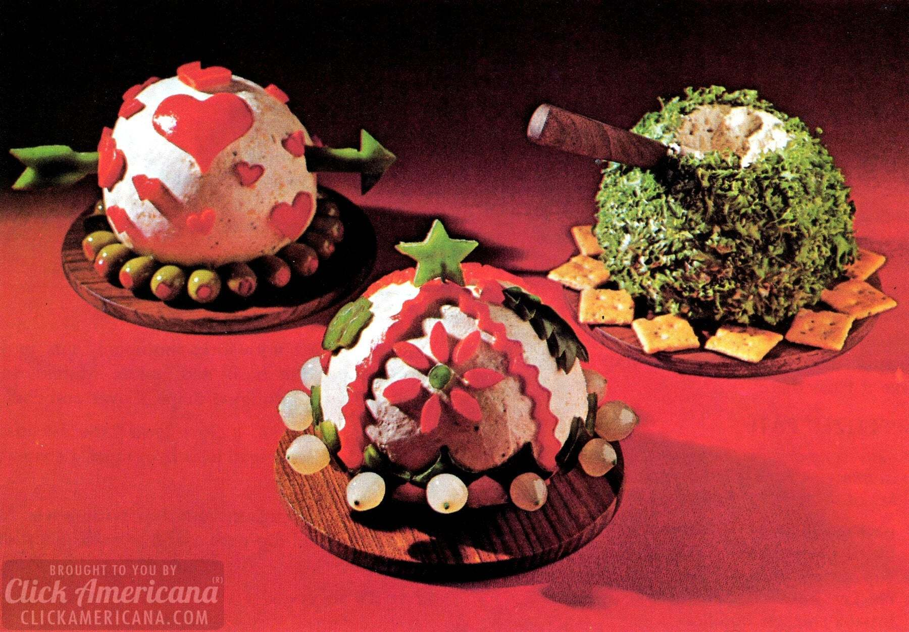 Vintage cheese balls