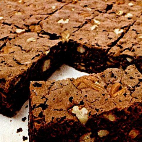 Jell-O pudding brownies