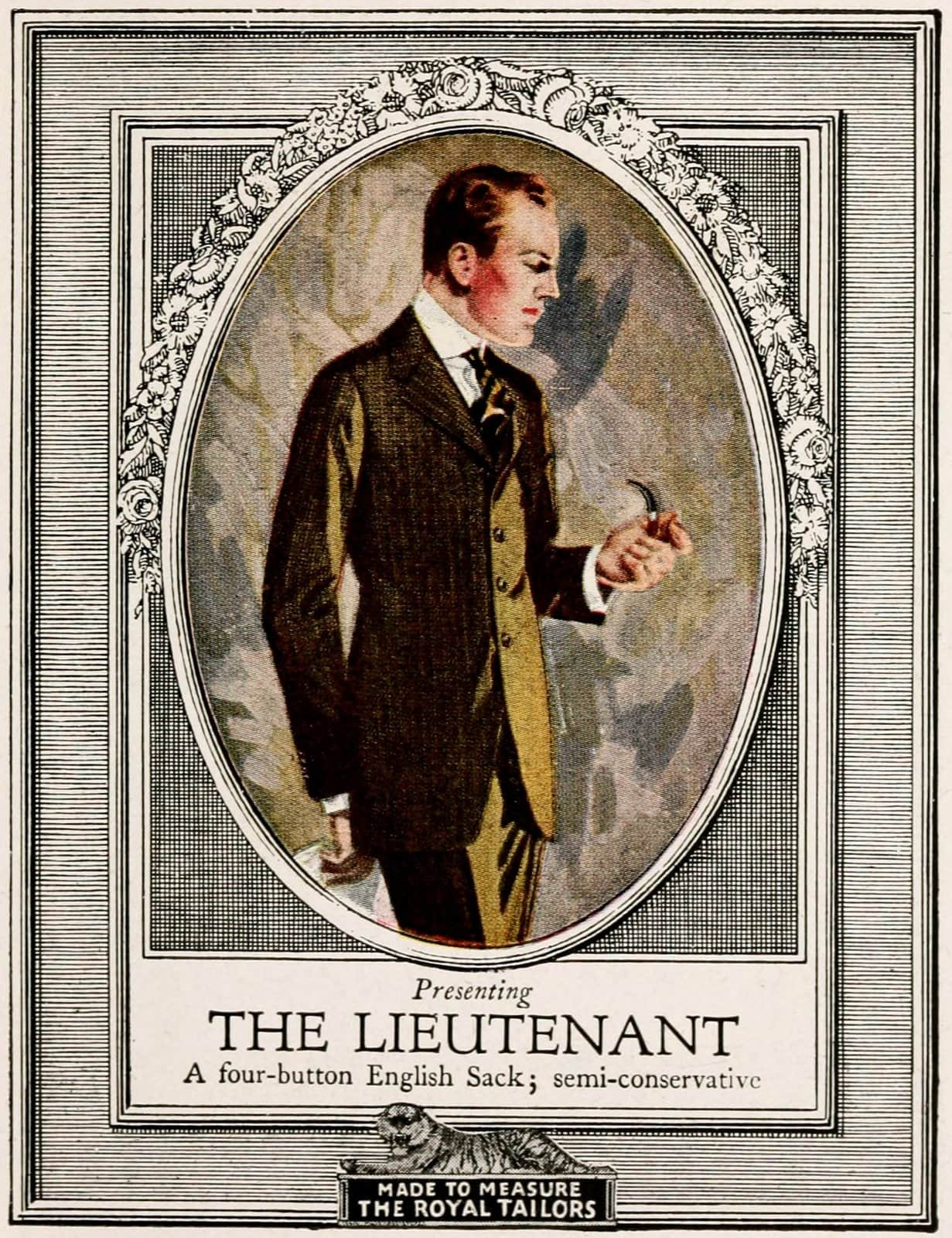 Vintage classic menswear from 1916 (1)