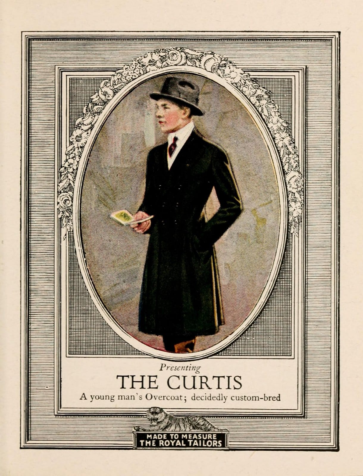 Vintage classic menswear from 1916 (2)