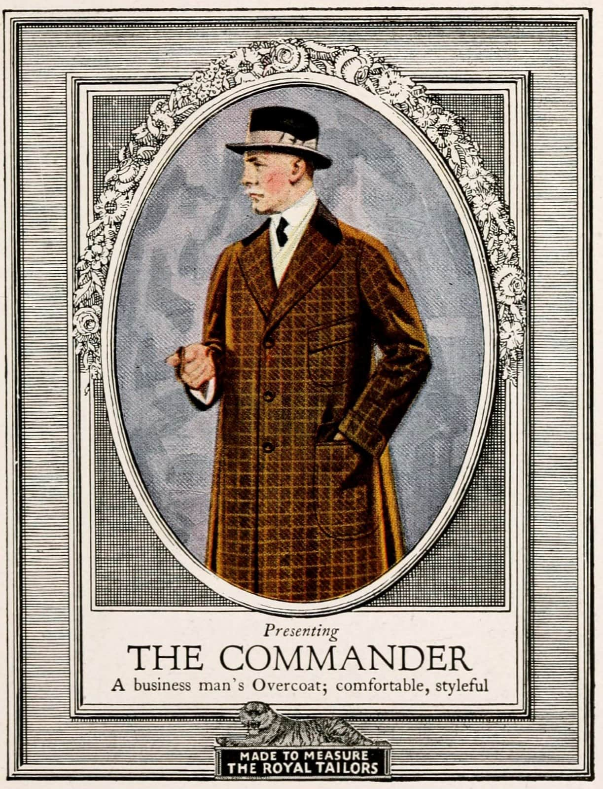 Vintage classic menswear from 1916 (5)