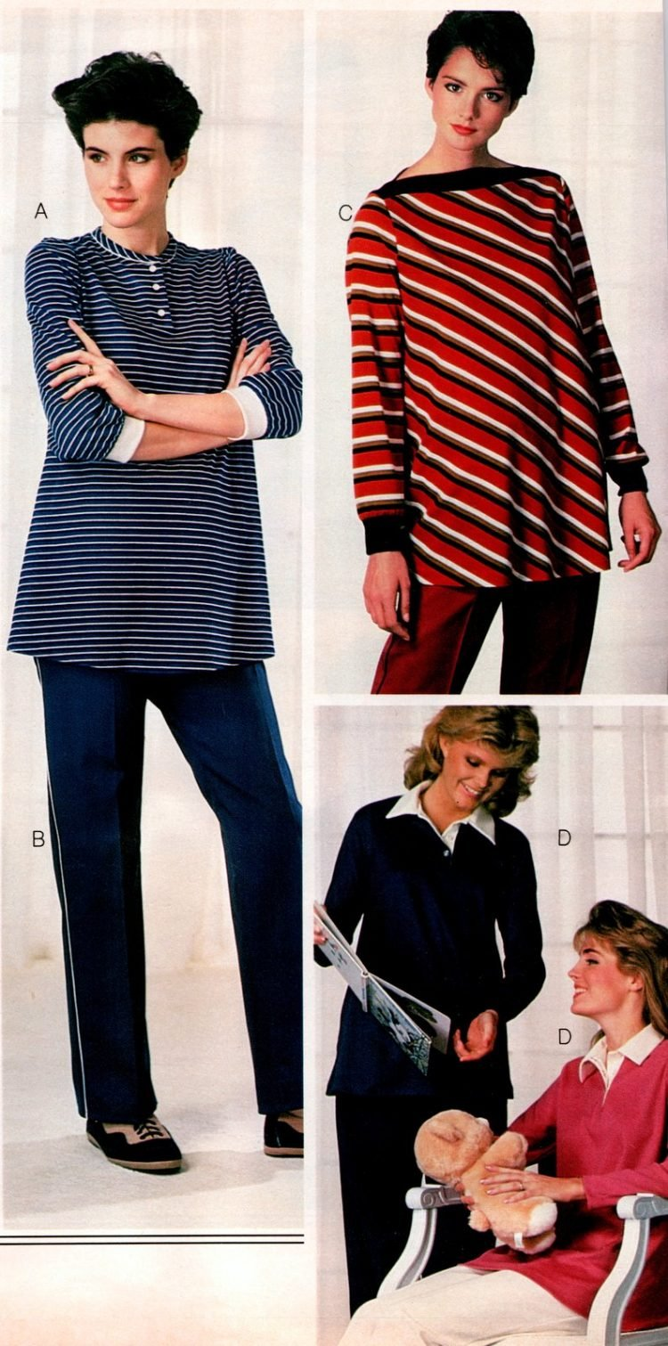 Vintage clothes for pregnant women - 1980s maternity fashion (6)