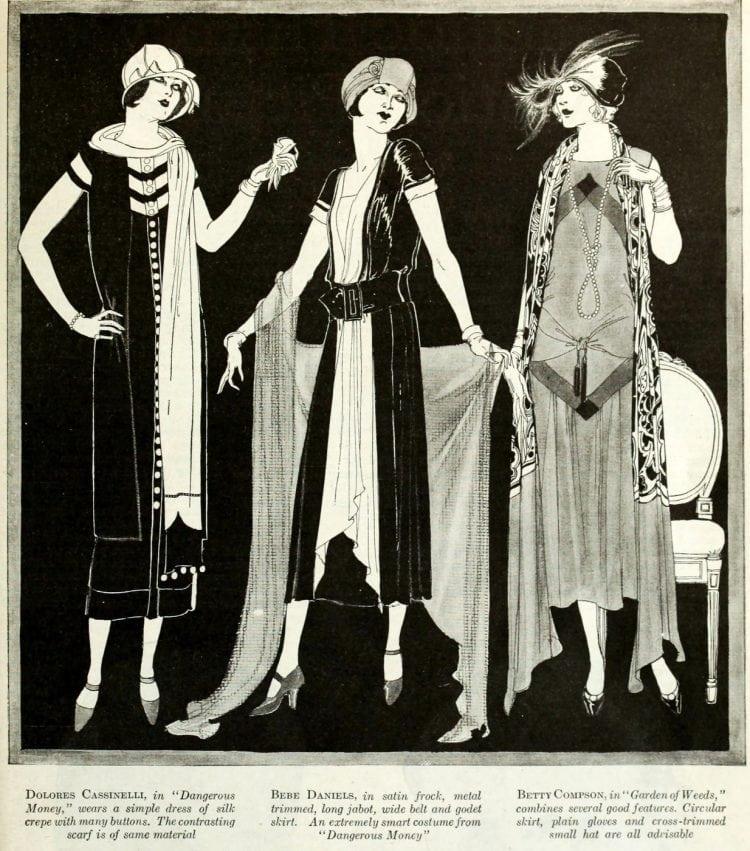 Vintage clothing from the roaring twenties (3)