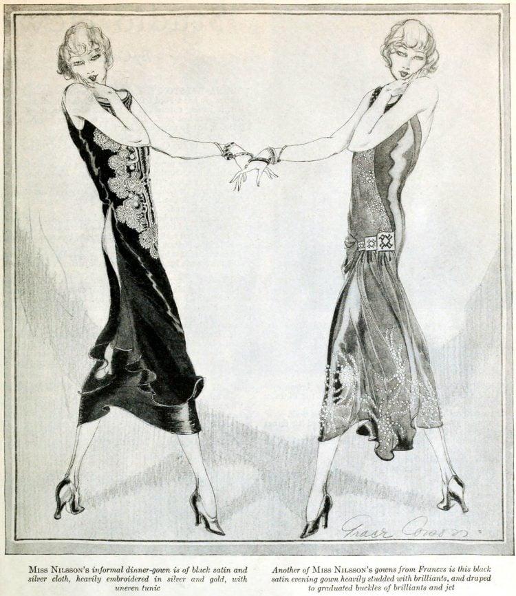Vintage clothing from the roaring twenties (4)