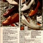Vintage conservative shoes for women from 1979 - leather uppers and mid-heels