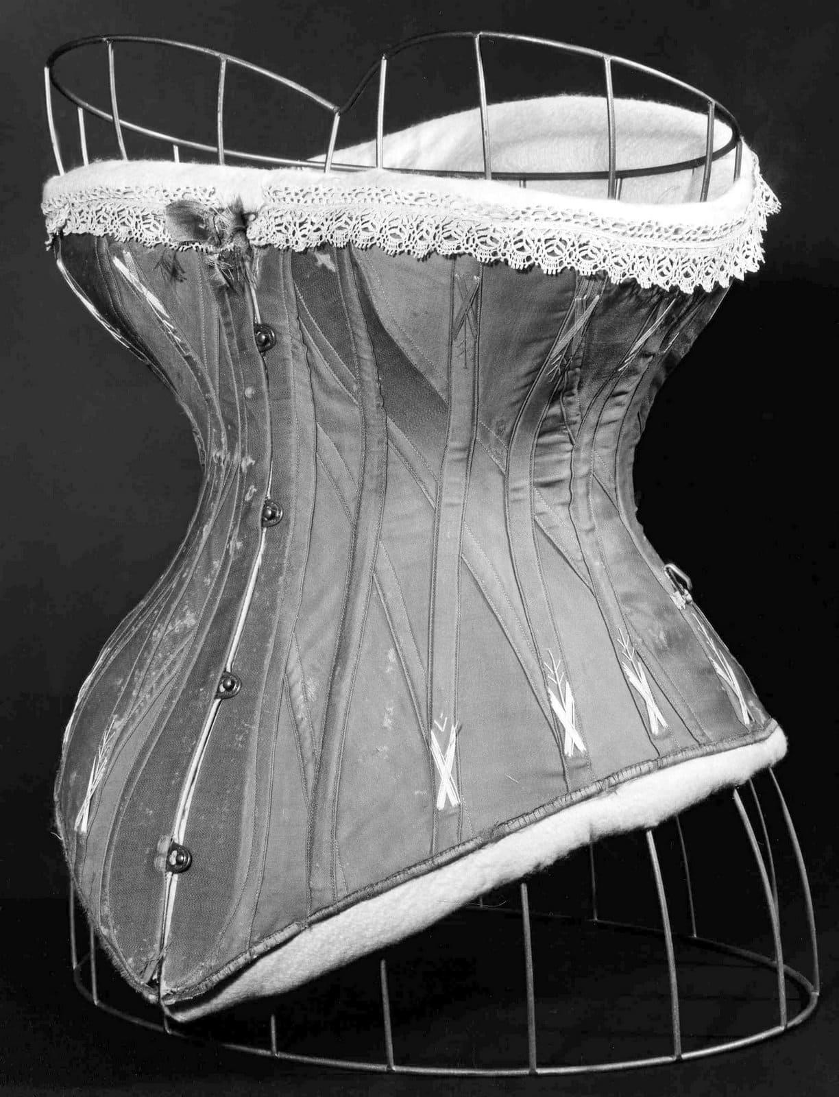 Vintage corset - British design c1870