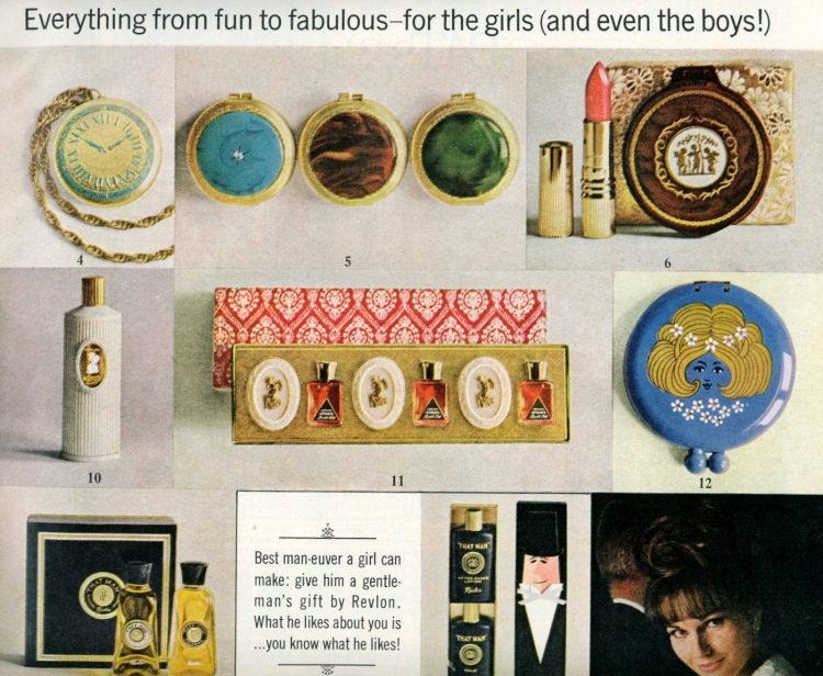 Vintage cosmetic gift sets from 1964 (1)